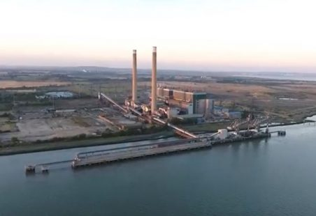 Demolition of Tilbury Power Station continues