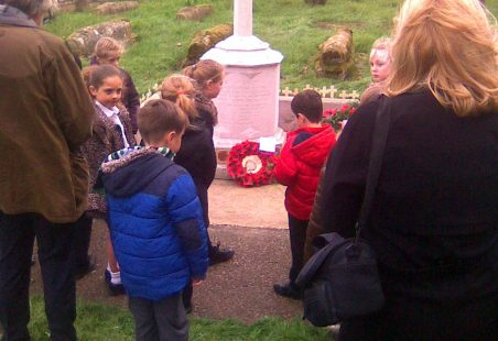Armistice Day at Chadwell, 2015