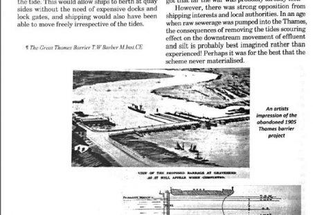 1906 cross Thames scheme: Tilbury to Gravesend