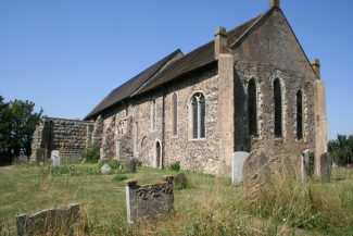 The current church at East Tilbury