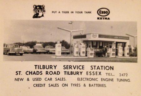 St Chads Service Station Tilbury