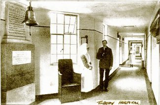 A corridor in the hospital | from John Smith