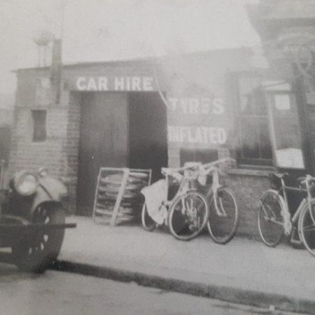 Harold's bike shop / garage in Dock Road, Tilbury   Jill Crawley