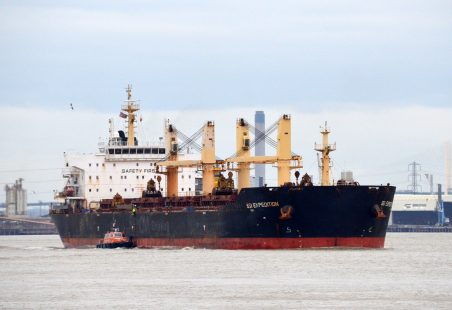SSI EXPEDITION leaving the Thames