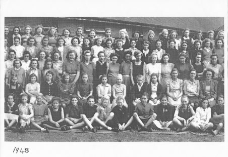 St. Chads school photo 1948