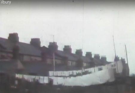 Cine film of Tilbury