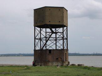 Past the radar tower,
