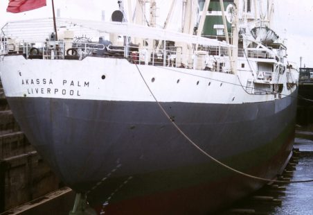 AKASSA PALM in dry dock