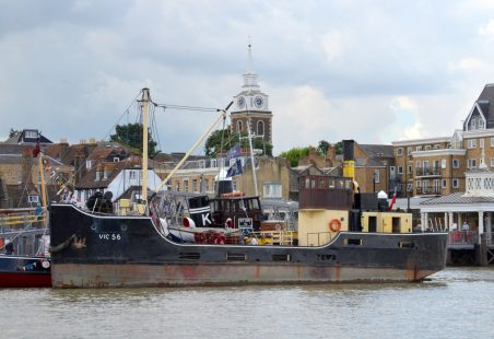 PORTWEY AND FRIENDS AT GRAVESEND