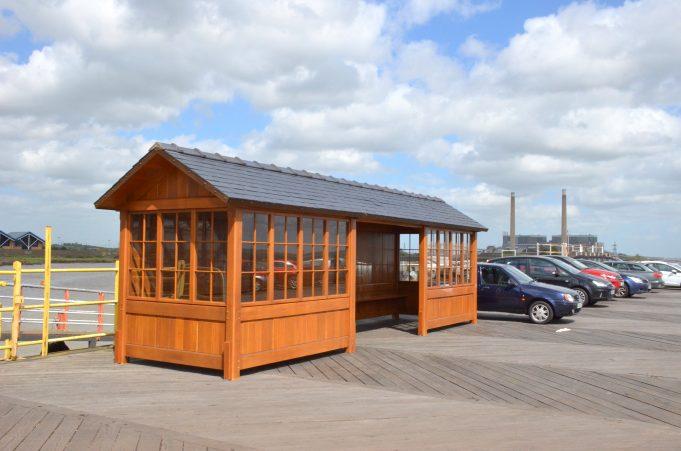 The new waiting room on Tilbury landing stage | Jack Willis