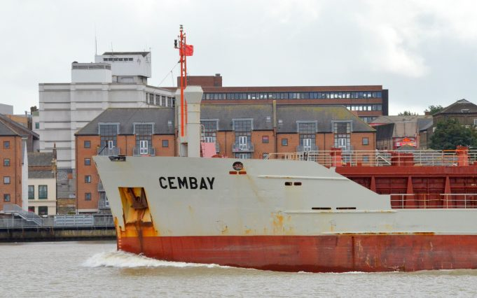 CEMBAY leaving the river | Jack Willis