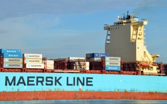 MAERSK LOTA on the river | Jack Willis