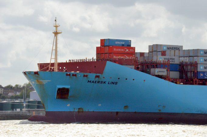 MAERSK LINS off Tilbury | Jack Willis