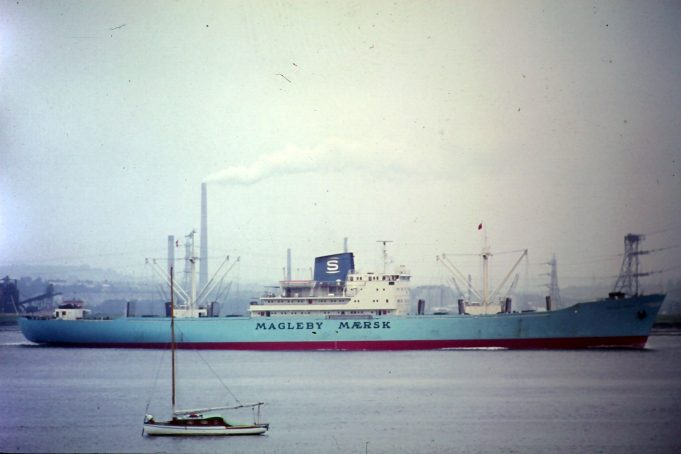 MAGLEBY MAERSK in river | Jack Willis