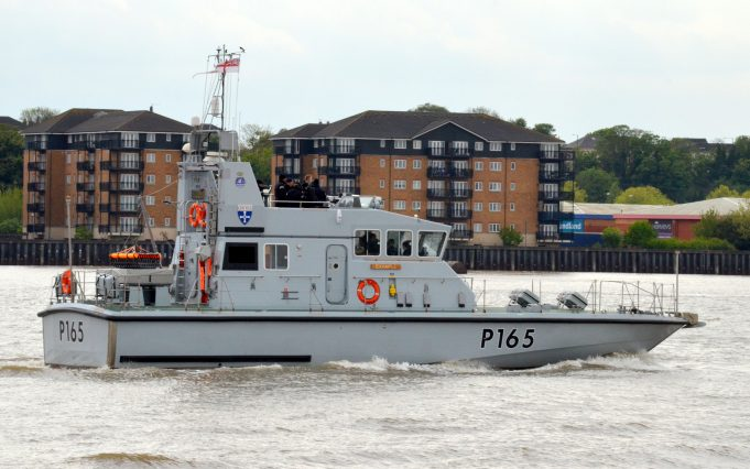 HMS EXAMPLE P165   Jack Willis