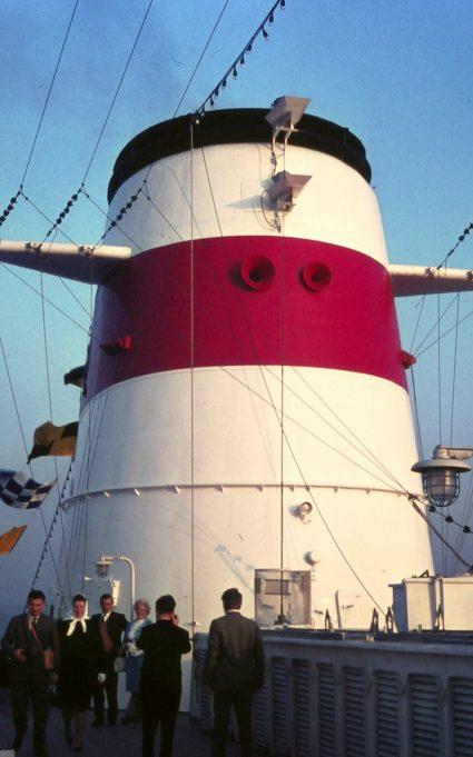 ALEXSANDR PUSHKIN on maiden voyage. | Jack Willis