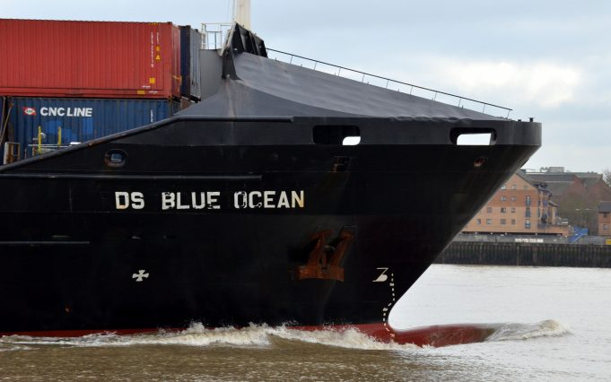 DS BLUE OCEAN off Tilbury | Jack Willis