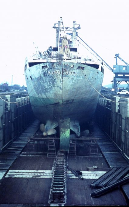 MAGDEBURG IN DRY DOCK | Jack Willis