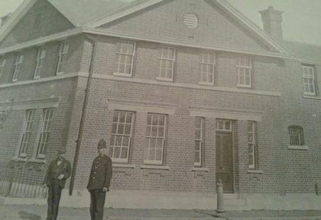 Tilbury Police station (c 1910)