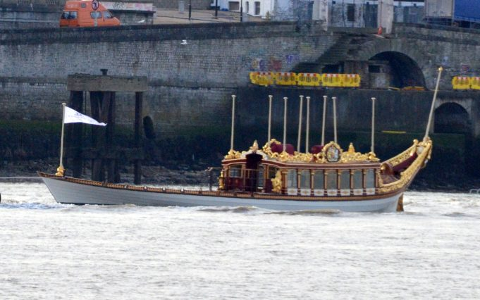 GLORIANA the Royal Barge | Jack Willis