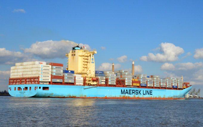MAERSK LEON leaving the Thames | Jack Willis