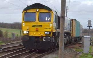 66594 and 70018 leaving DP World | Jack Willis