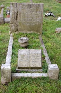 The gravestone on the family plot in Chadwell churchyard | John Matthews