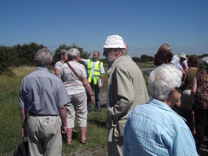 Heritage walk at Tilbury Fort