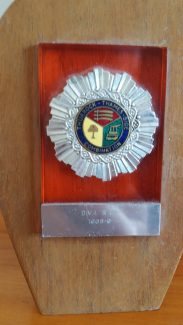 Division 1 runners up medal won playing for Tilbury Community Centre 1968-69 season. | Percy Dalton