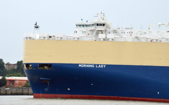 MORNING LADY leaving her berth | Jack Willis