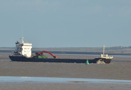 AASLI arriving from Port Talbot.
