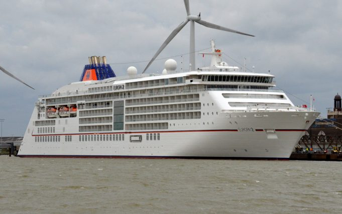 EUROPA 2 on Tilbury L S | Jack Willis