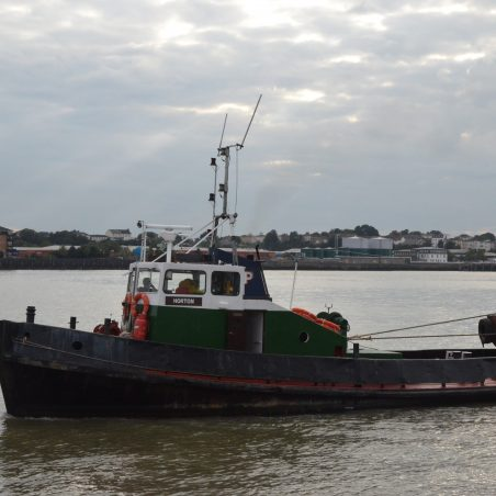 HORTON (tug) off Tilbury landing stage   Jack Willis