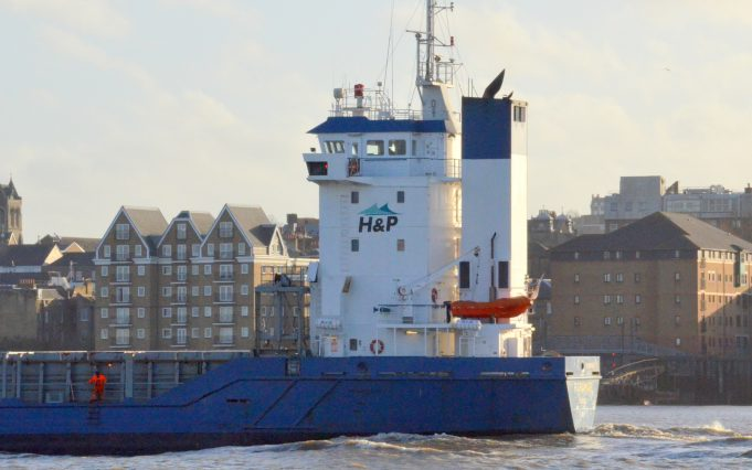 PARAMAR leaving the Thames