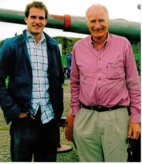 Dan and Peter Snow at Tilbury Fort | June Brown