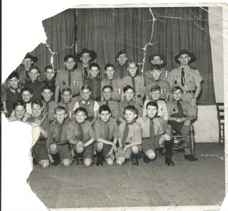 5th Tilbury Scout Group around 1950/51