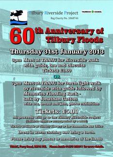 60th Anniversary of Tilbury Floods
