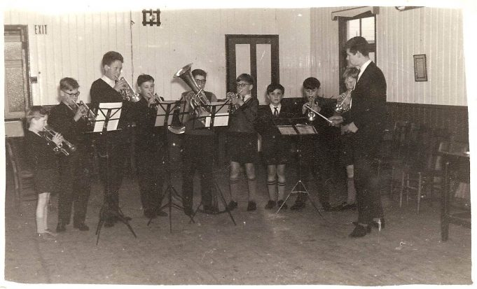 Tilbury Band learners c1962