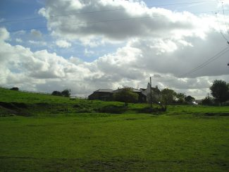 Another view of the house meadow and barns 2013. | from John Smith