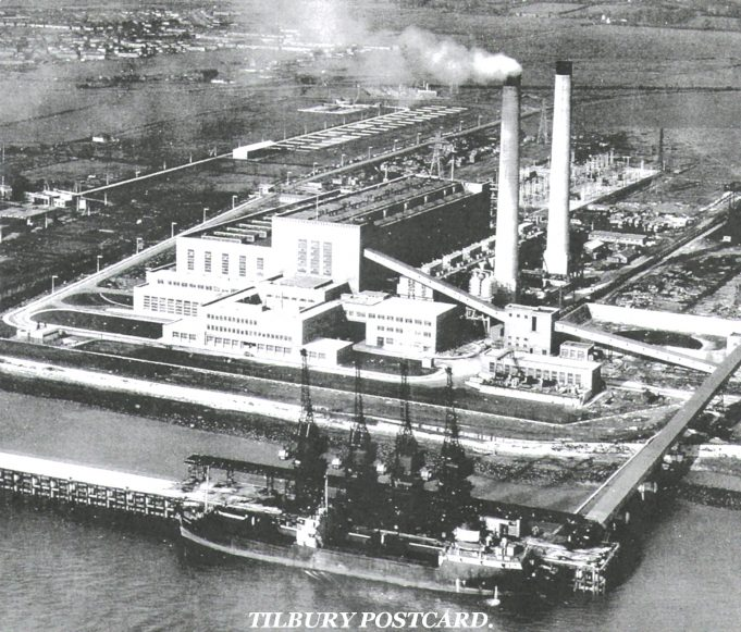 Aerial view of Tilbury A | from John Smith