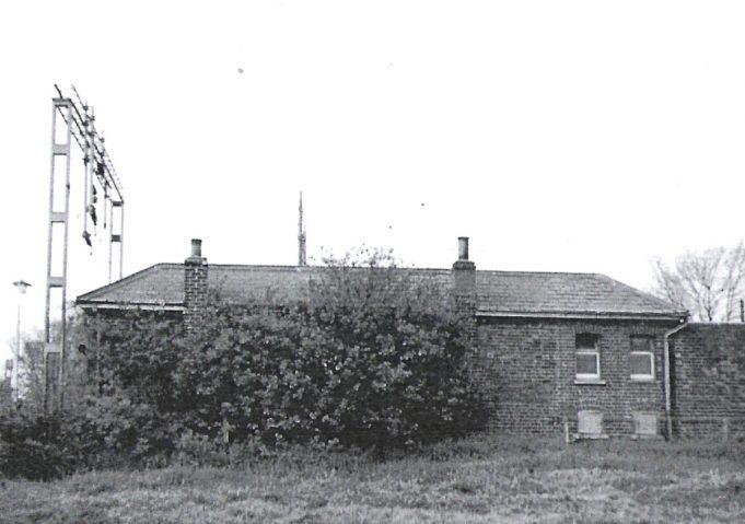 Back of Station Waitng Room - 1960s.