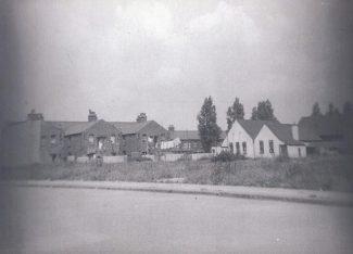 Back of Wesleyan Church Hall, 1950s.