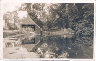 Biggin,the pond and cart shed 1930s, Summer | from John Smith
