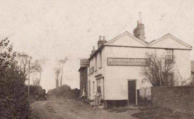 Blue Anchor, West Tilbury - circa 1930 | www.pubshistory.com (David Jaundrell)