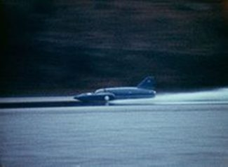 Bluebird K7 at speed