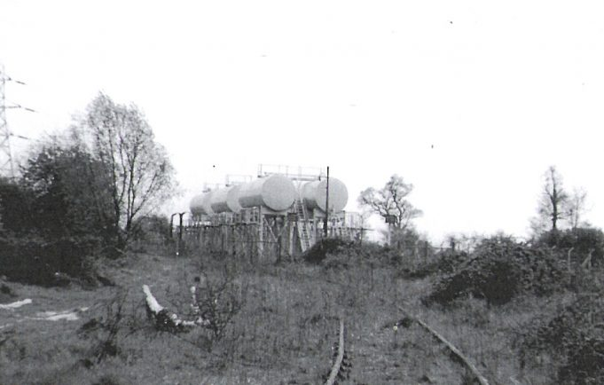 Branch Line to Oil Tanks - 1967