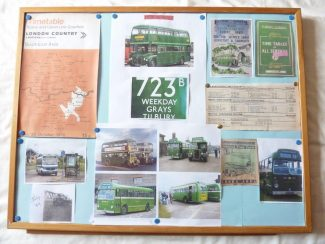 Tilbury Buses - cuttings from the paper