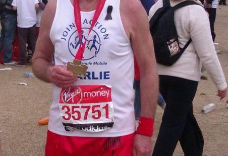 Tilbury Marathon Man!!