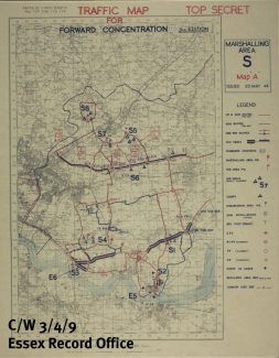 D-Day assemby areas | ERO