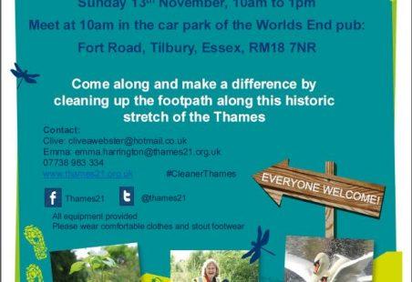 Tilbury Path Tidy-Up